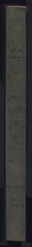 sedir paul, leloup yvon, guerre, 14-18, vue, mystique, conference, 1915,1916,edition legrand 1920