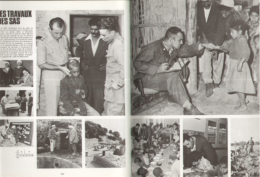 Première partie : 1942 - 1945 L'Algérie Française en guerre,Deuxième partie : 1945 - 1954 L'Algérie Française en paix, Troisième partie : 1954 - 1962 La guerre de l'Algérie française