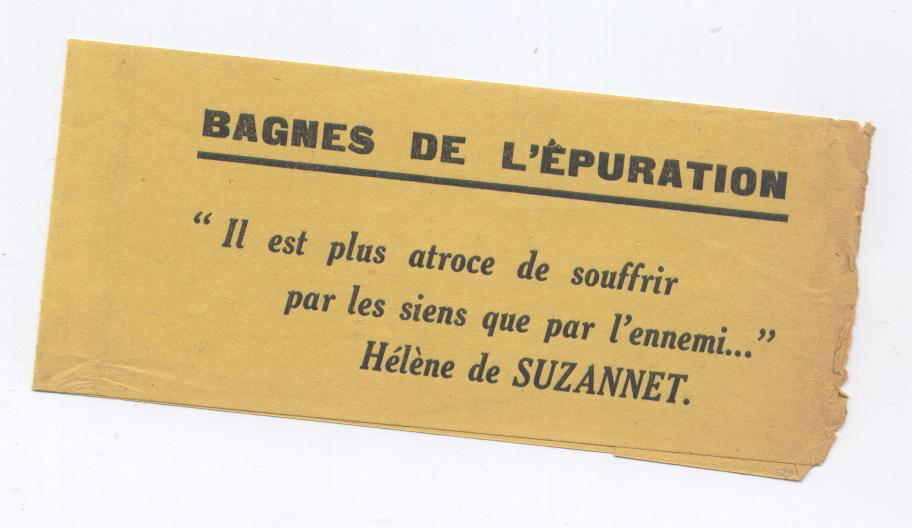 Philippe Saint-Germain , Art. 75, Bagnes de l'Epuration Bureau D'Etude Et De Publications Sociales - 1951, jaquette et bandeau - Edition Originale