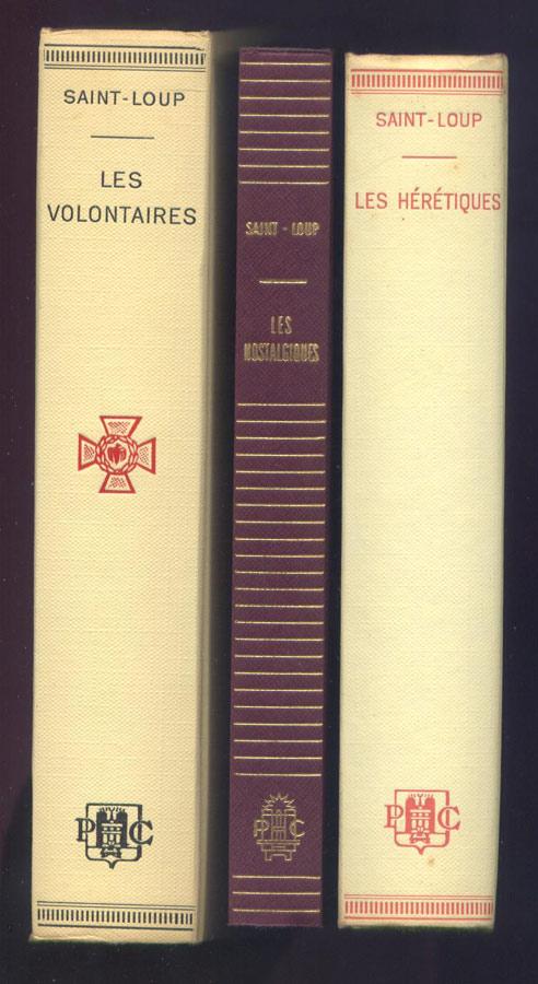 Auteur: Augier Marc,Titre: les volontaires,histoire de la LVF, jaquette de l'édition originale ,1963, livres en tbe, en vente sur www.histoire-memoires.com/saint-loup-marc-augier-les-volontaires-les-heretiques-les-nostalgiques-3-livres.htm