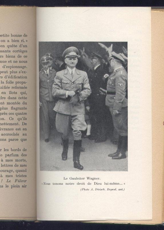 Photo du gauleiter wagner - www.histoire-memoires.com - Librairie on-line - Marseille