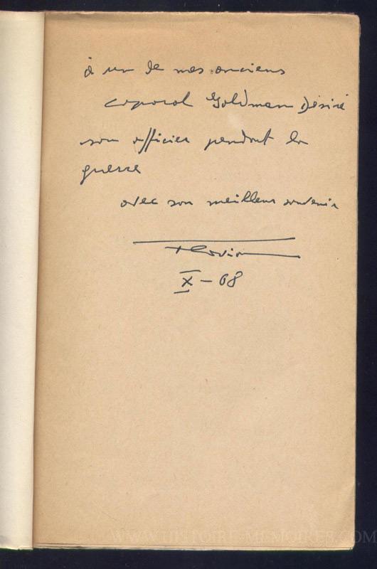 Un important dossiers de 13 d'annexes qui traite  entre autre de la Gestapo à Marseille