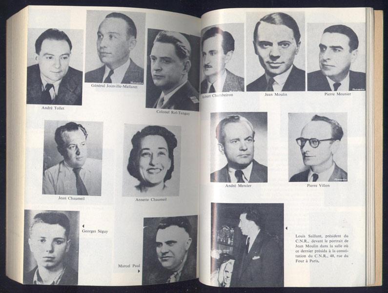 Un couple dans la Résistance, Simone et Auguste GILLOT: Un cahier de 4 pages de photos noir et blanc en Hors-Texte