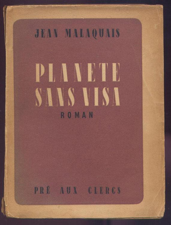 malaquais,jean,planete,sans,visa,resistance,guerre