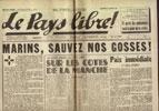 Clémenti Pierre, journal le Pays Libre, 15 mars 1941, hebdomadaire, Organe de presse du Parti Français National Collectiviste en vente sur www.histoire-memoires.com/clementi-le-pays-libre-15-03-1941.htm