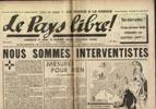 Clémenti Pierre, journal le Pays Libre, 19 avril 1941, hebdomadaire, Organe de presse du Parti Français National Collectiviste en vente sur www.histoire-memoires.com/clementi-le-pays-libre-19-04-1941.htm