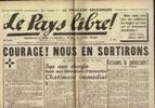 Clémenti Pierre, journal le Pays Libre, 29 mars 1941, hebdomadaire, Organe de presse du Parti Français National Collectiviste en vente sur www.histoire-memoires.com/clementi-le-pays-libre-29-03-1941.htm