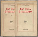 REBATET Lucien Les deux étendards, 2 volumes, Gallimard NRF-Paris 1951, édition originale sur papier courrant